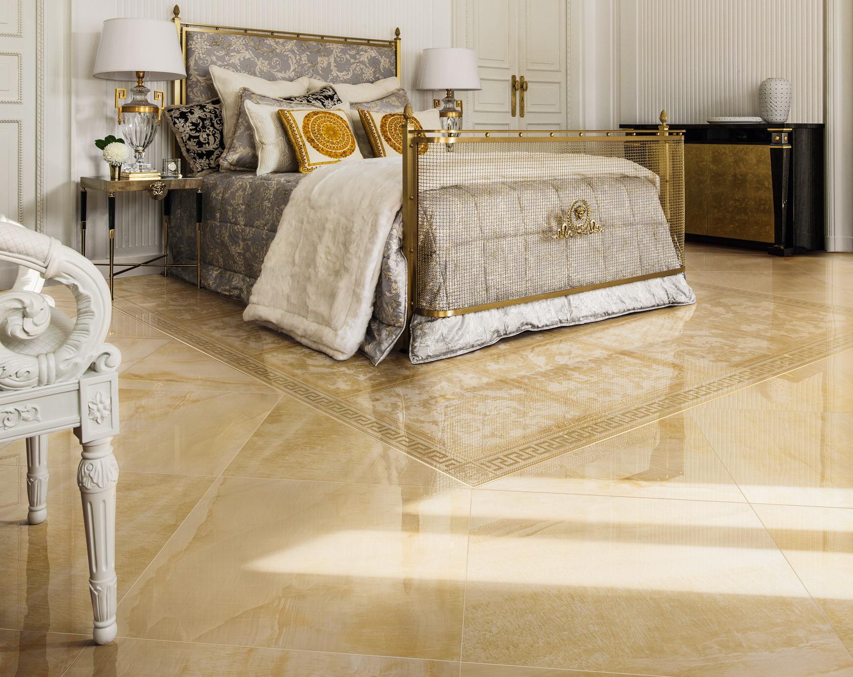 Effetto marmo habitare casa for Pavimento versace